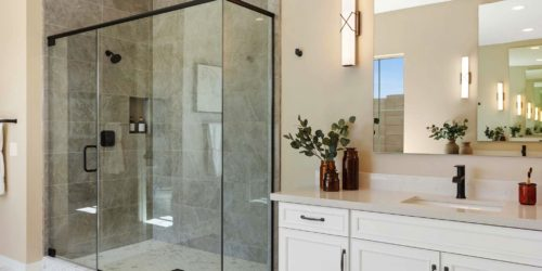 Preakness Estates Master Bath Shower