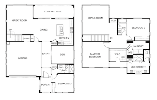 Madison Park Chandler Hartford Floorplan