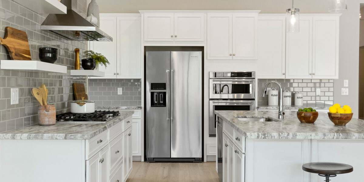 Preakness Estates Silver Charm Kitchen view side