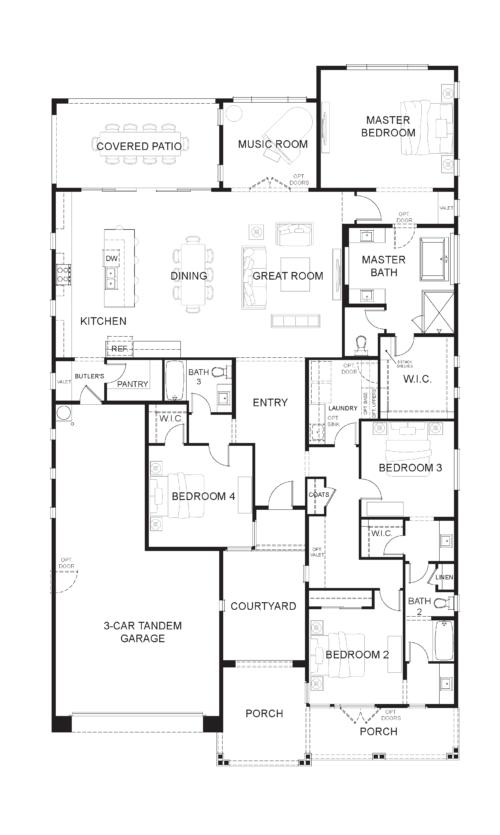 Preakness Estates Gallant Fox Opt Bed 4
