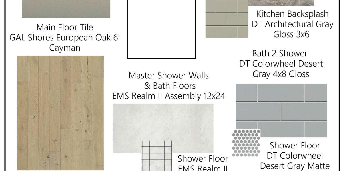 Preakness Estates Silver Charm color board lot 14