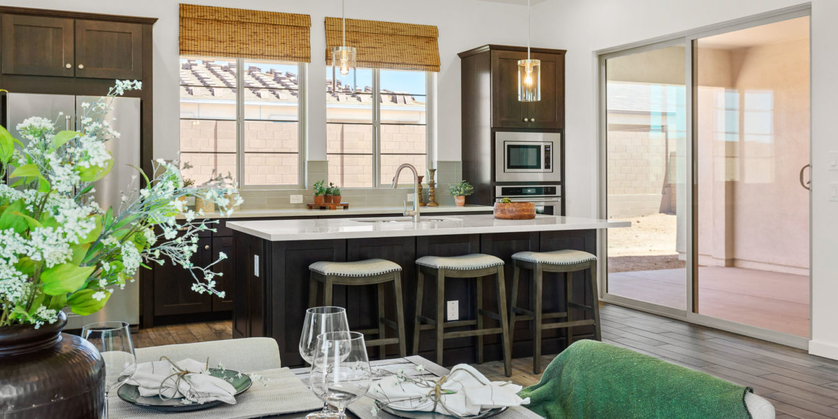 Preakness Estates Risen Star Kitchen Island
