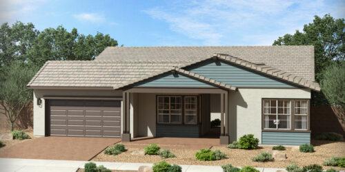 Gardeners Enclave Ocotillo Floor Plan New Ranch Elevation