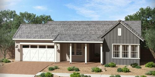 Gardeners Enclave Ocotillo Floor Plan Urban Farmhouse Elevation