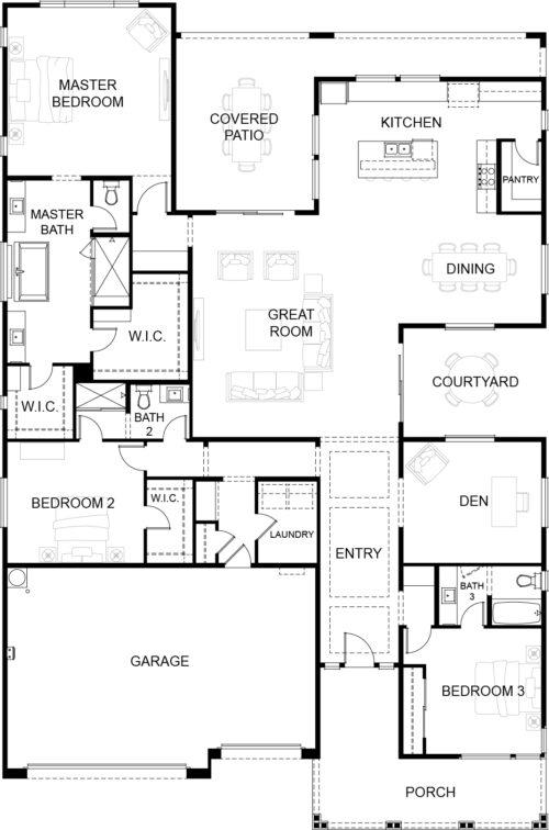 Gardeners Enclave Marigold Floor Plan
