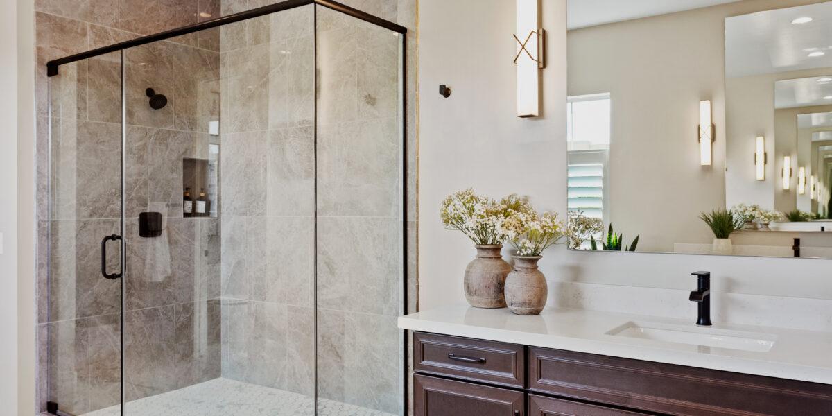 Gardeners Enclave Ocotillo Master shower