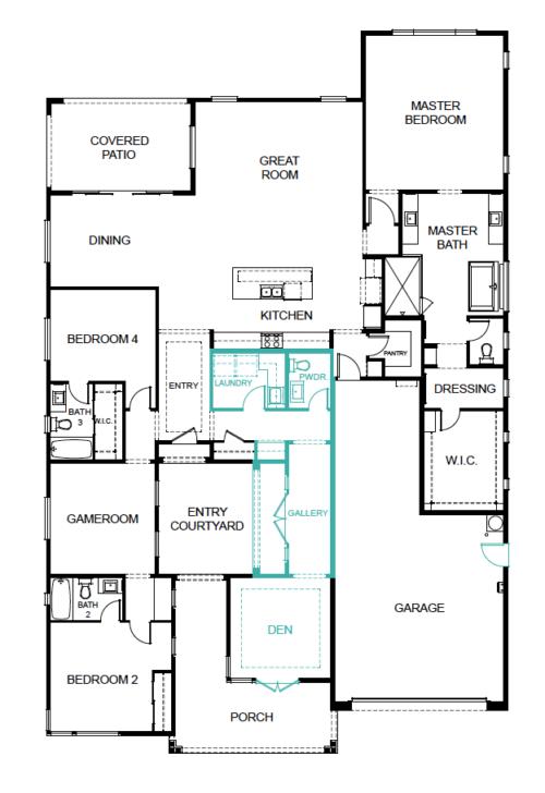 floor plan lot 54 gardeners enclave